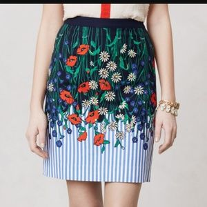 "Postmark ""vertical garden"" pencil skirt"